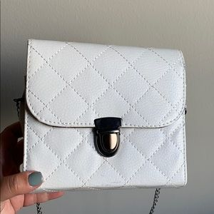 White crossby purse